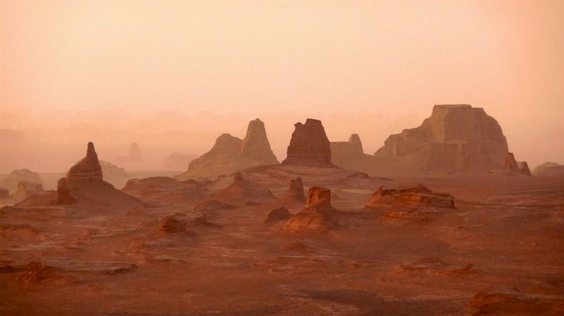 il nuovo più caldo ed inospitale del pianeta si trova in iran (86 ... - Porta Di Sicurezza Con La Scena Del Deserto